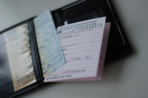 polia w portfelu